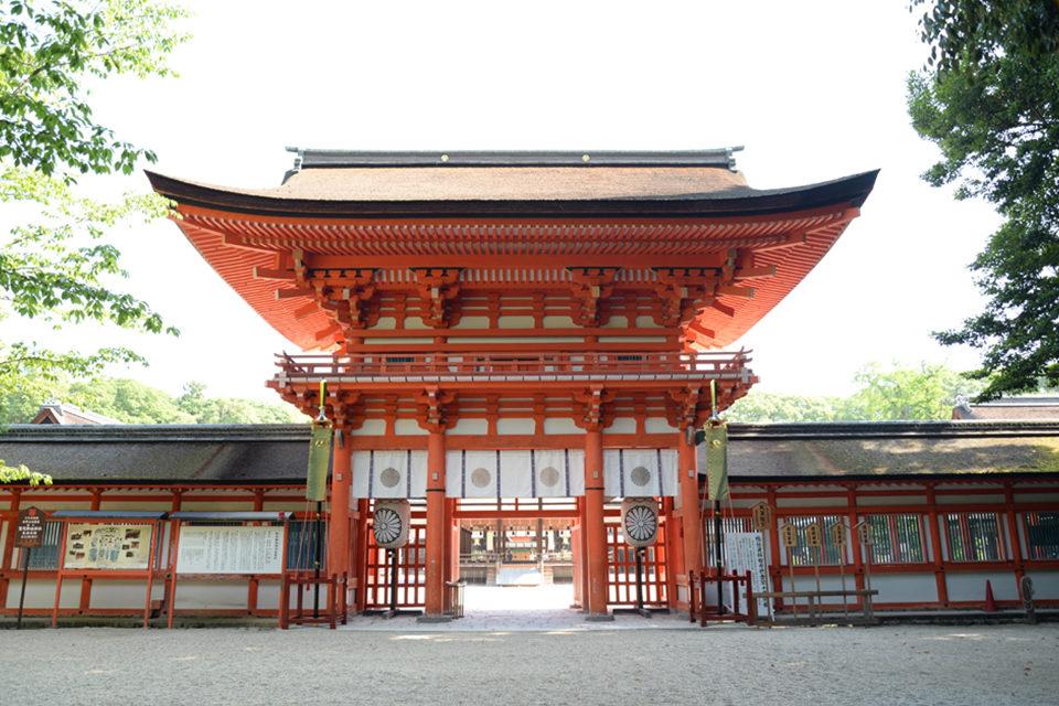 下鴨神社-楼門