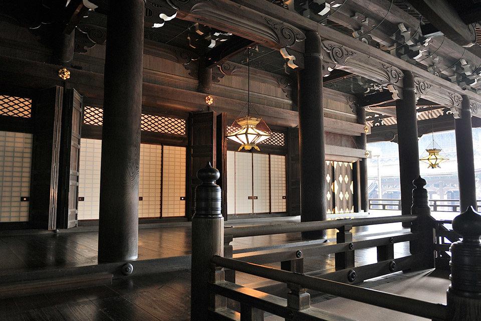 京都東本願寺の紅葉