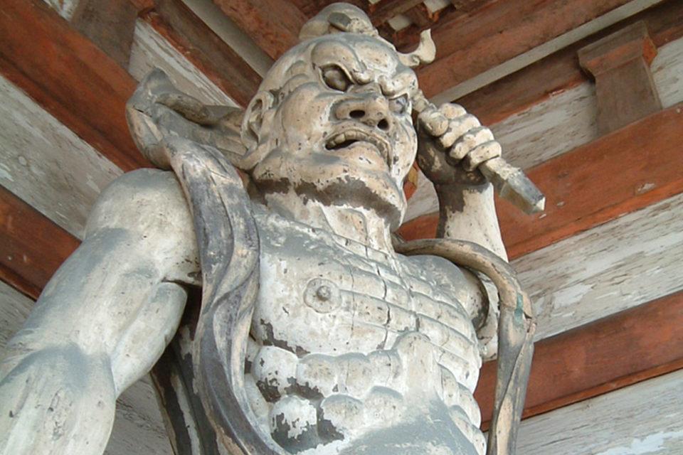 仁和寺-金剛力士像