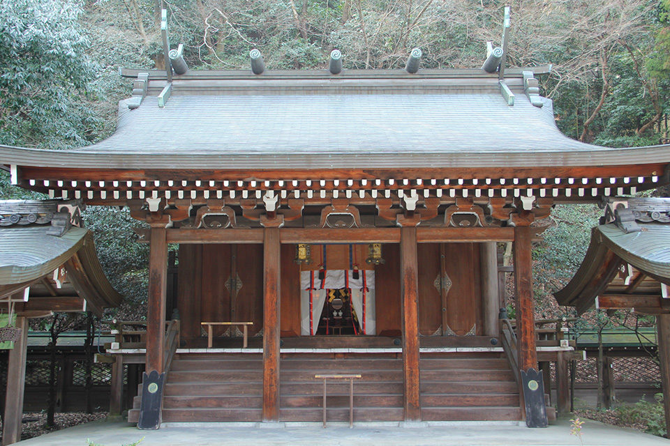 大石神社の紅葉