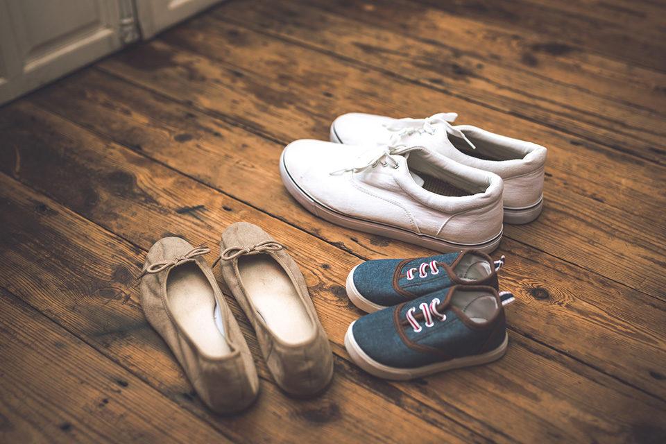 京都観光で歩きやすい靴