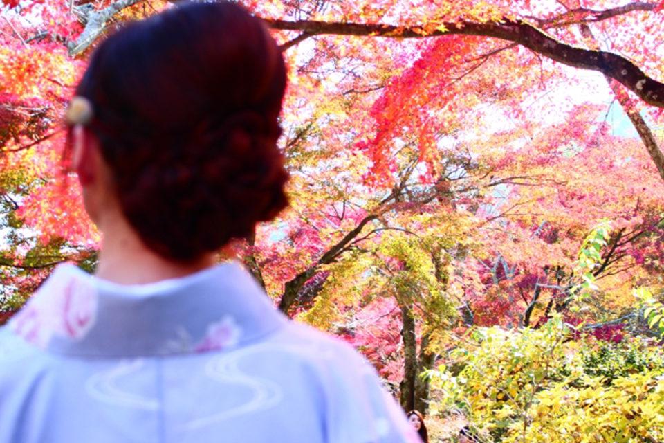 せっかくなら紅葉の美しい秋の京都で!京都での前撮りする際におさえておきたいポイントをご紹介!!