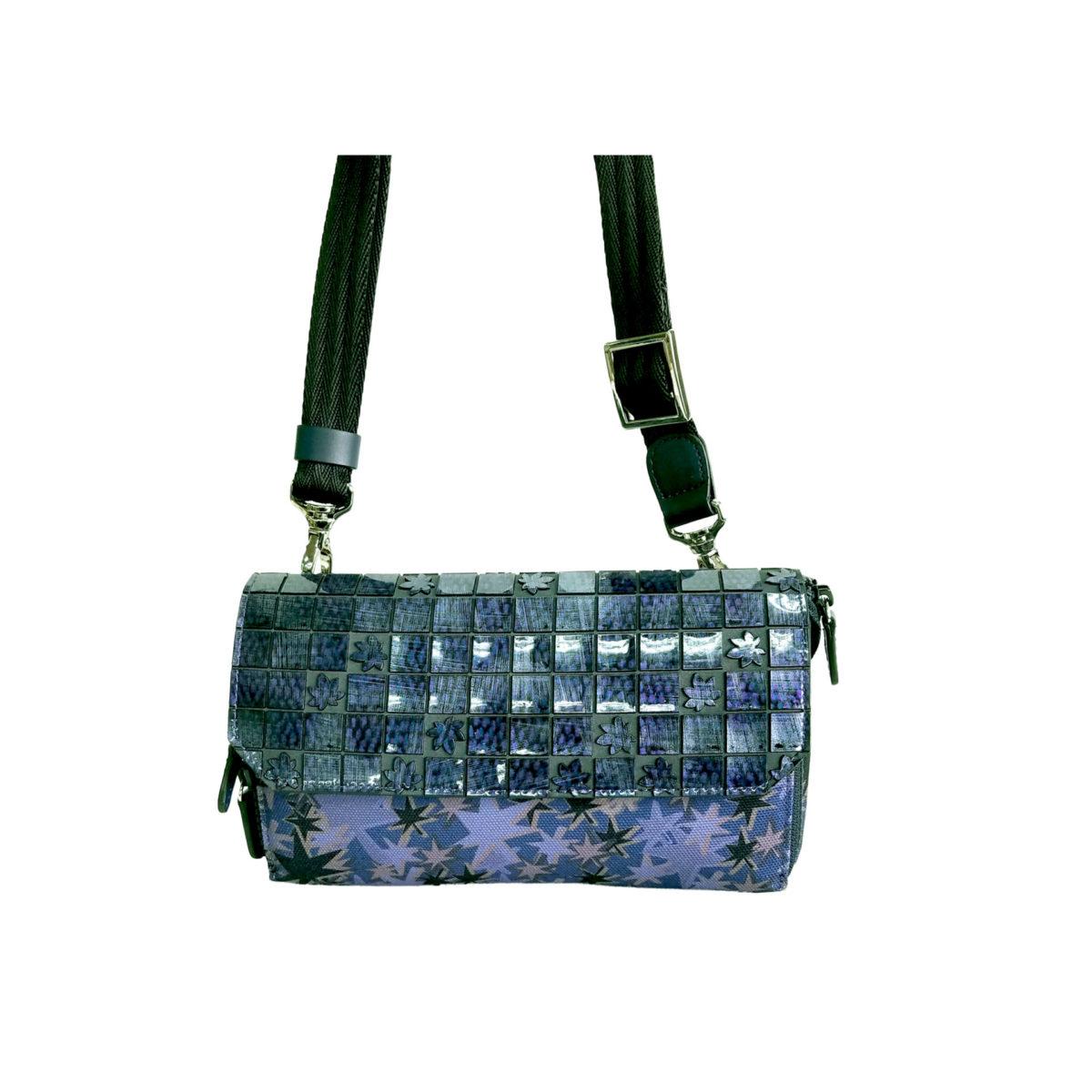 Stella Misto Flap wallet pochette navy