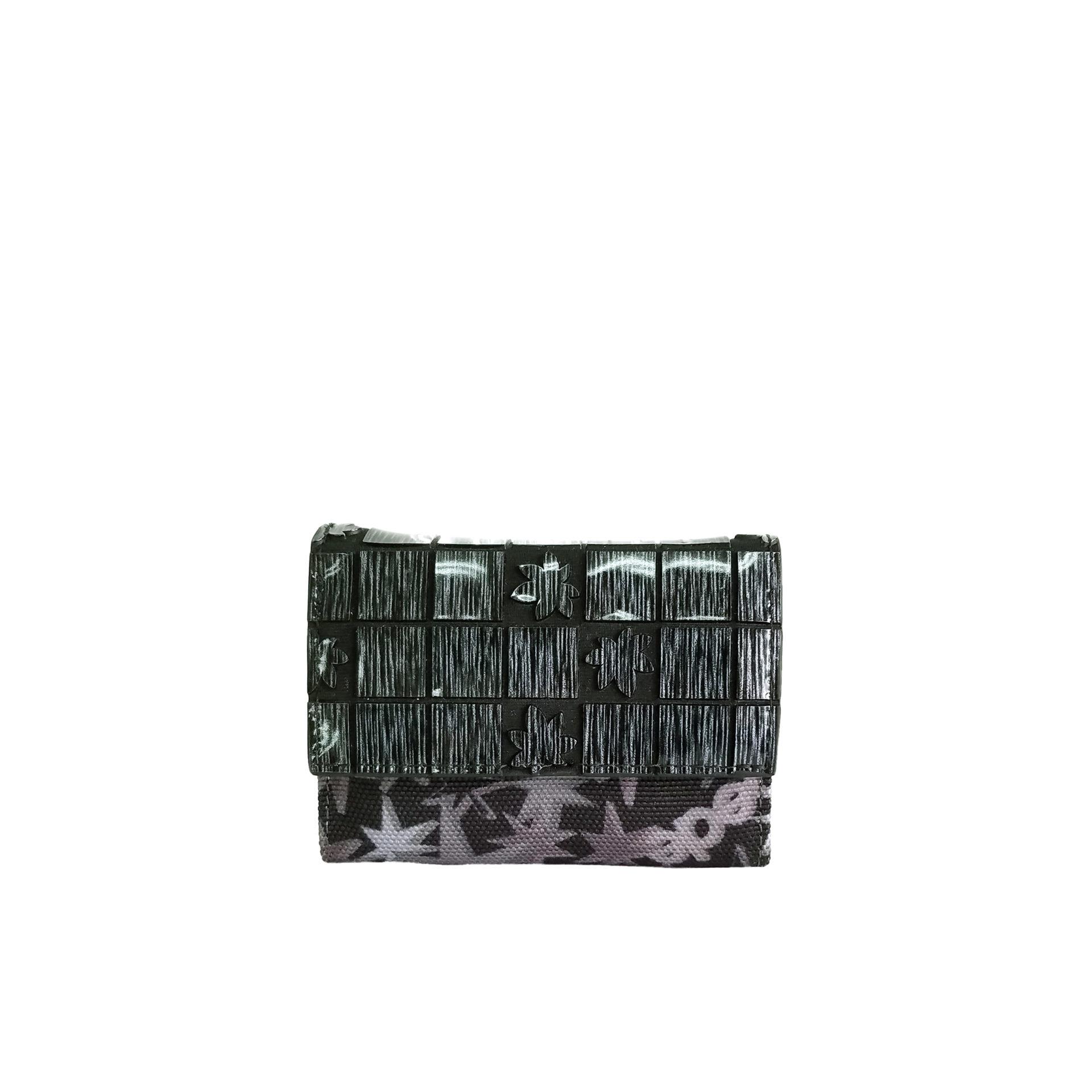 京都限定のELISIR caede KYOTO | エリシアカエデ京都のバッグシリーズ Stella Misto Flap Mini wallet black