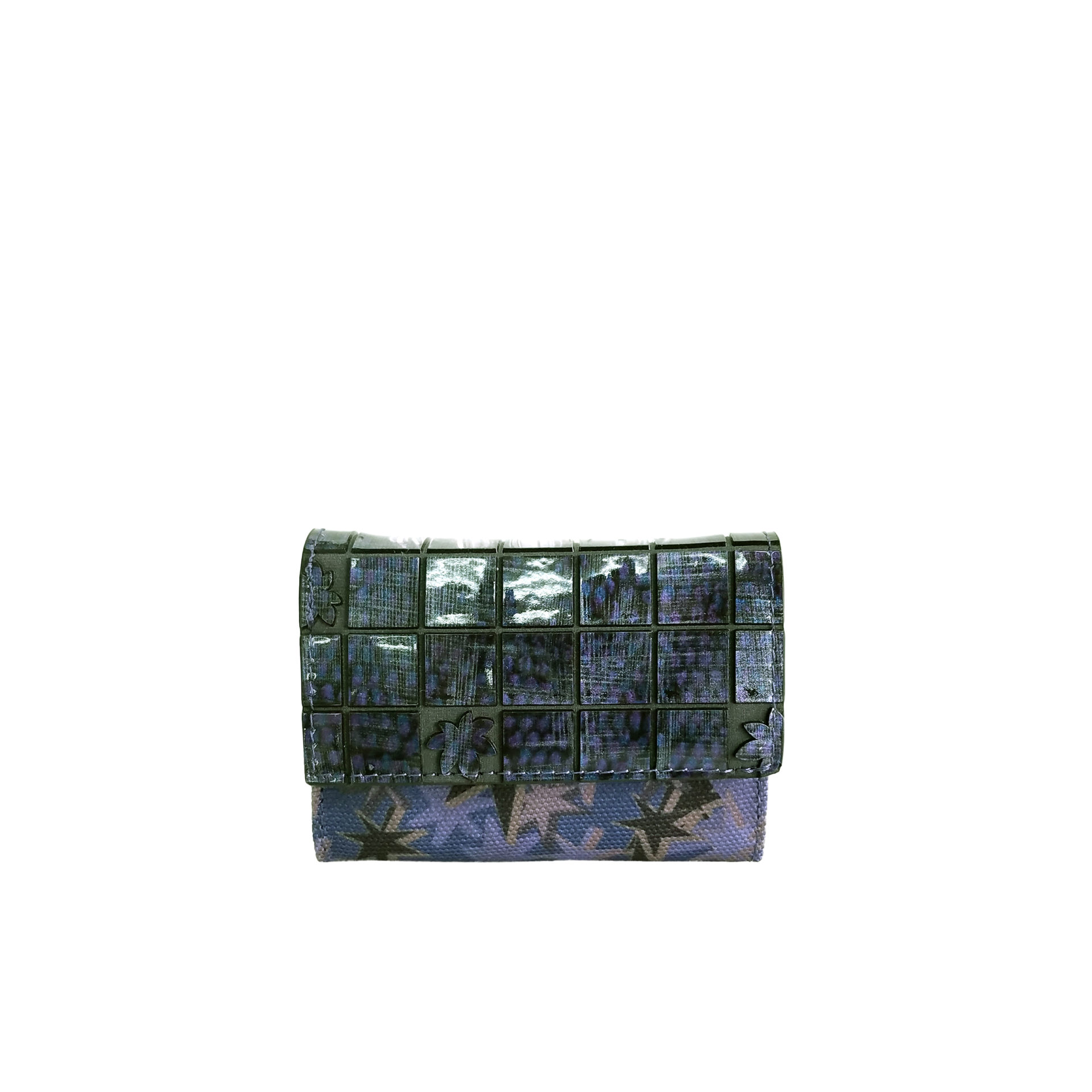 京都限定のELISIR caede KYOTO | エリシアカエデ京都のバッグシリーズ Stella Misto Flap Mini wallet navy