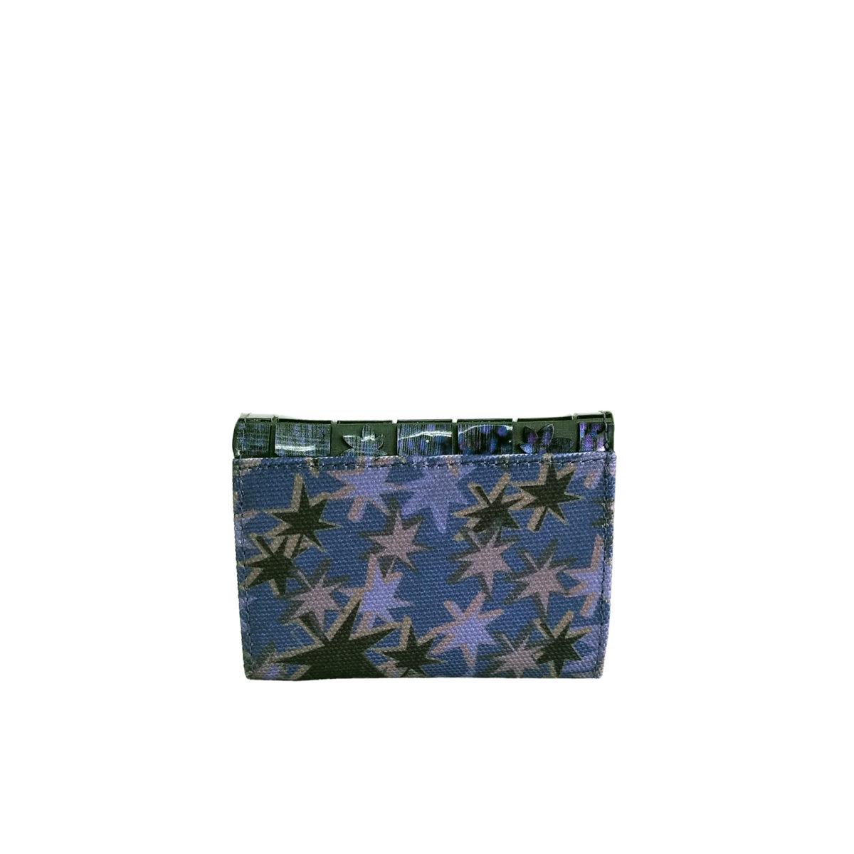 Stella Misto Flap Mini wallet navy