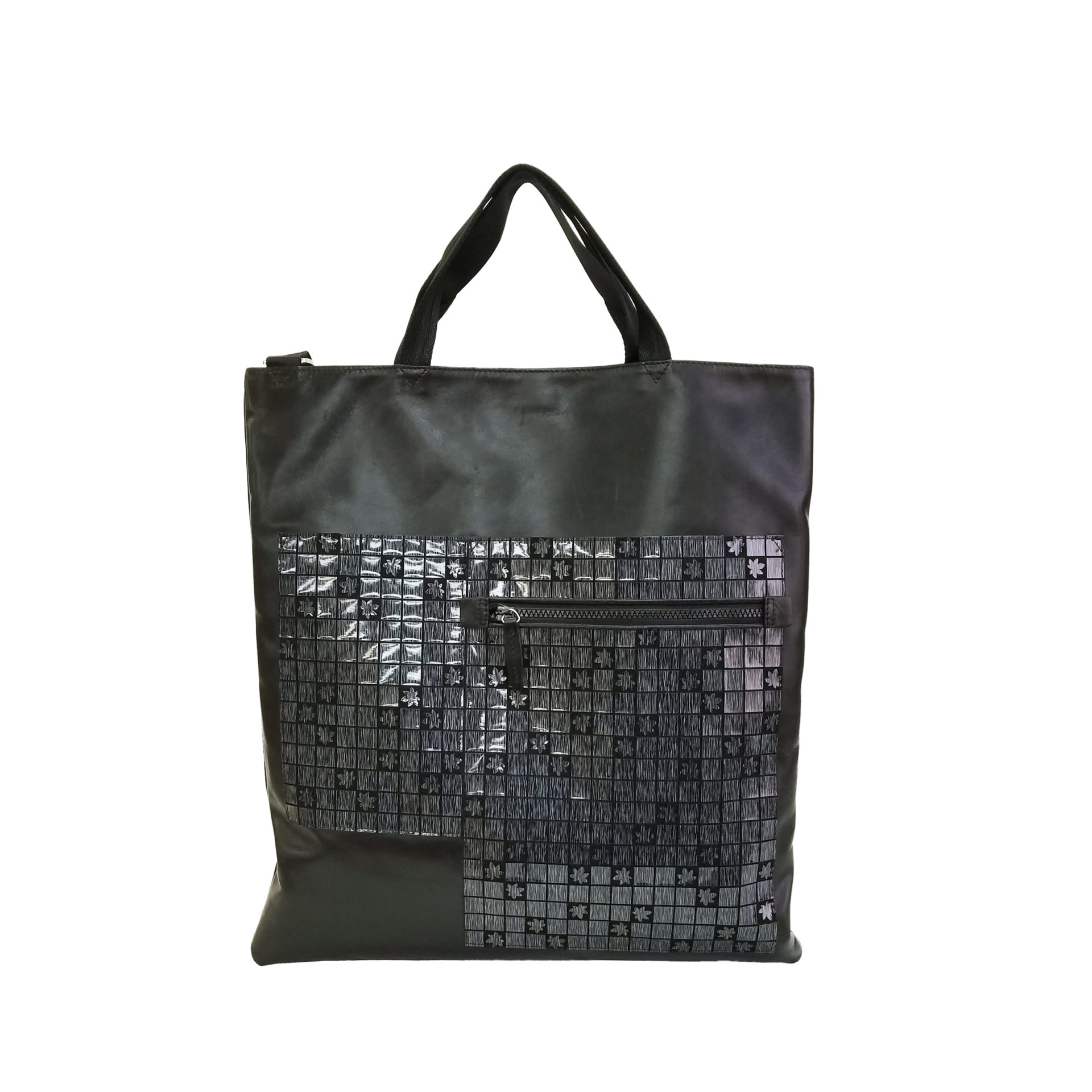 Leather Misto 3 face tote bag | caede京都