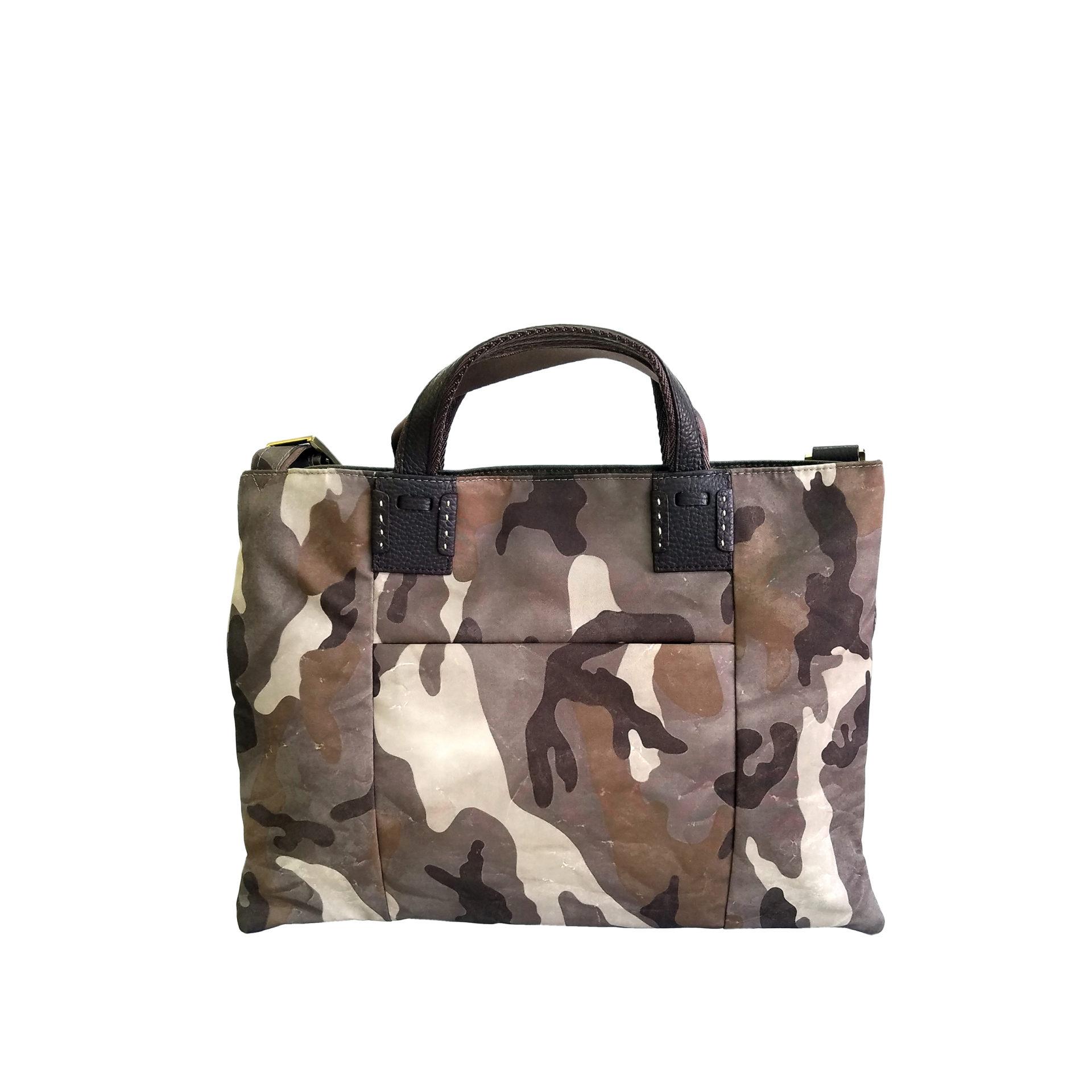 京都限定のELISIR caede KYOTO | エリシアカエデ京都のバッグシリーズ Camouflage Cerberus 3 face sacoche