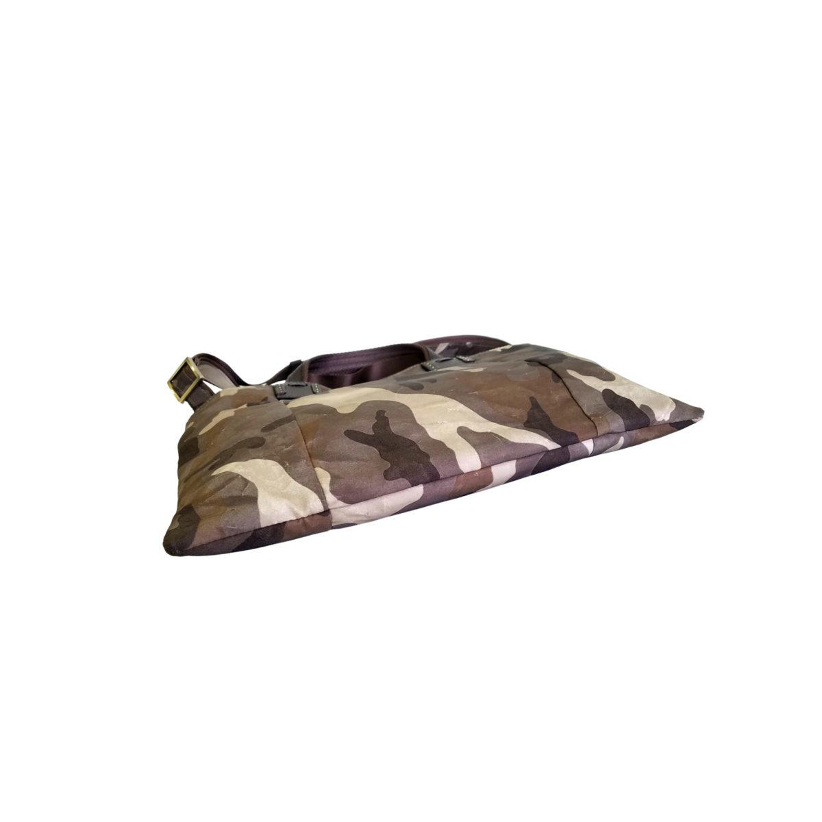 Camouflage Cerberus 3 face sacoche