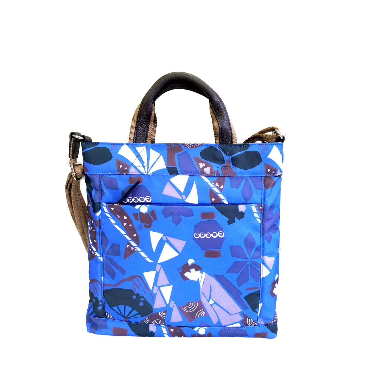 Maiko Puzzle Etna shoulder blue