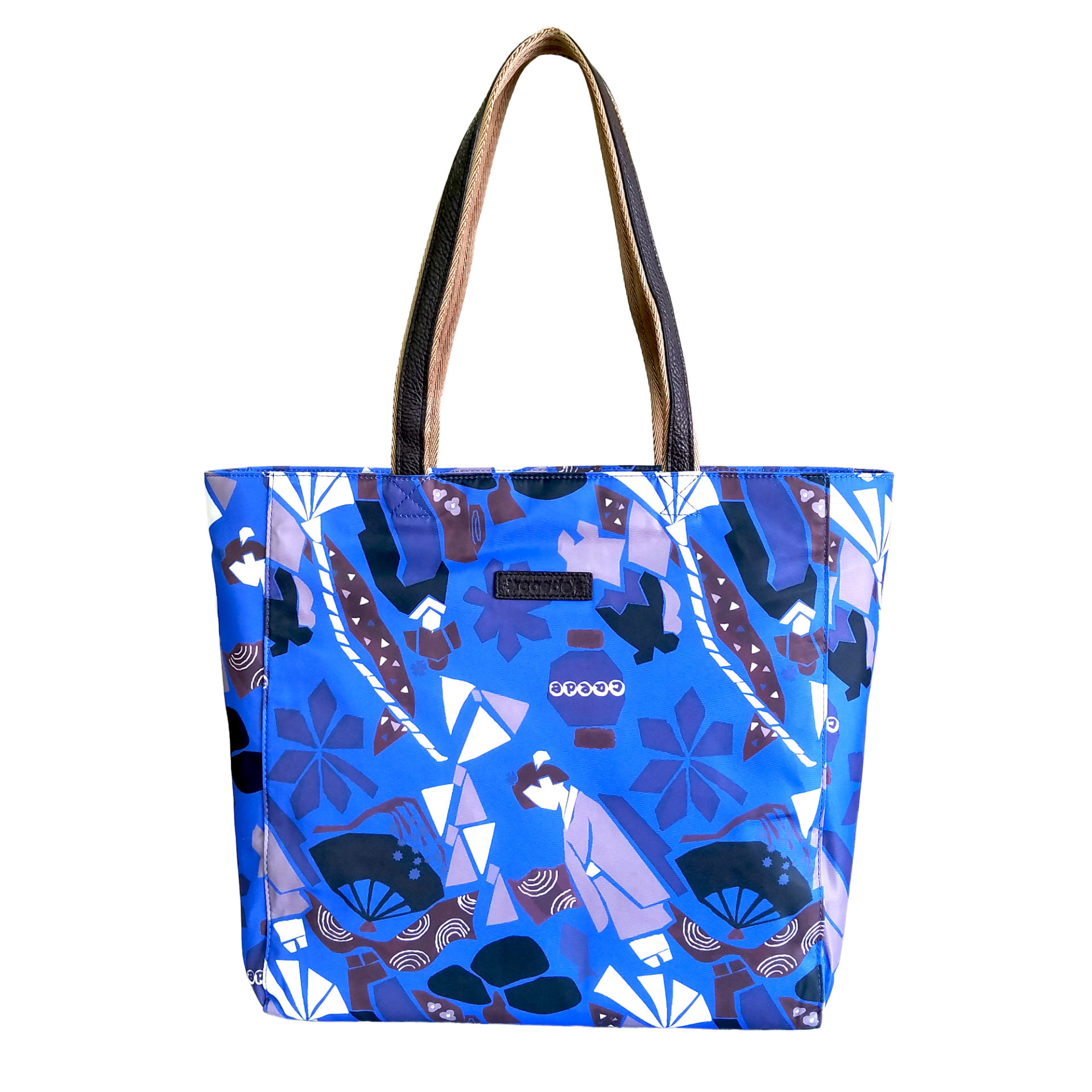 Maiko Puzzle Linate Tote blue
