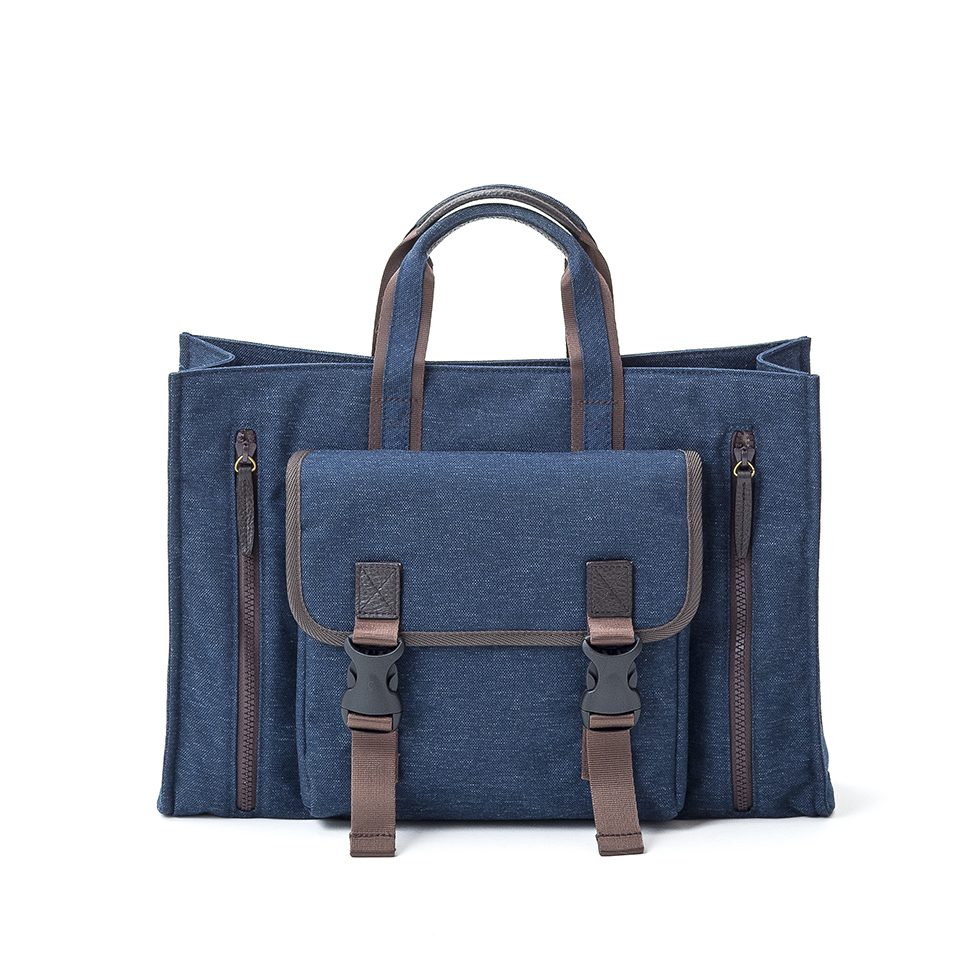 Numero Light Square Tote