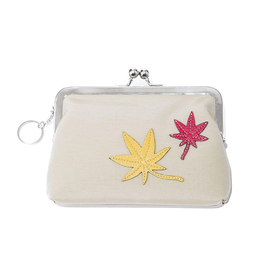 京都限定のELISIR caede KYOTO | エリシアカエデ京都のバッグシリーズ Grosgrain Frame Pouch