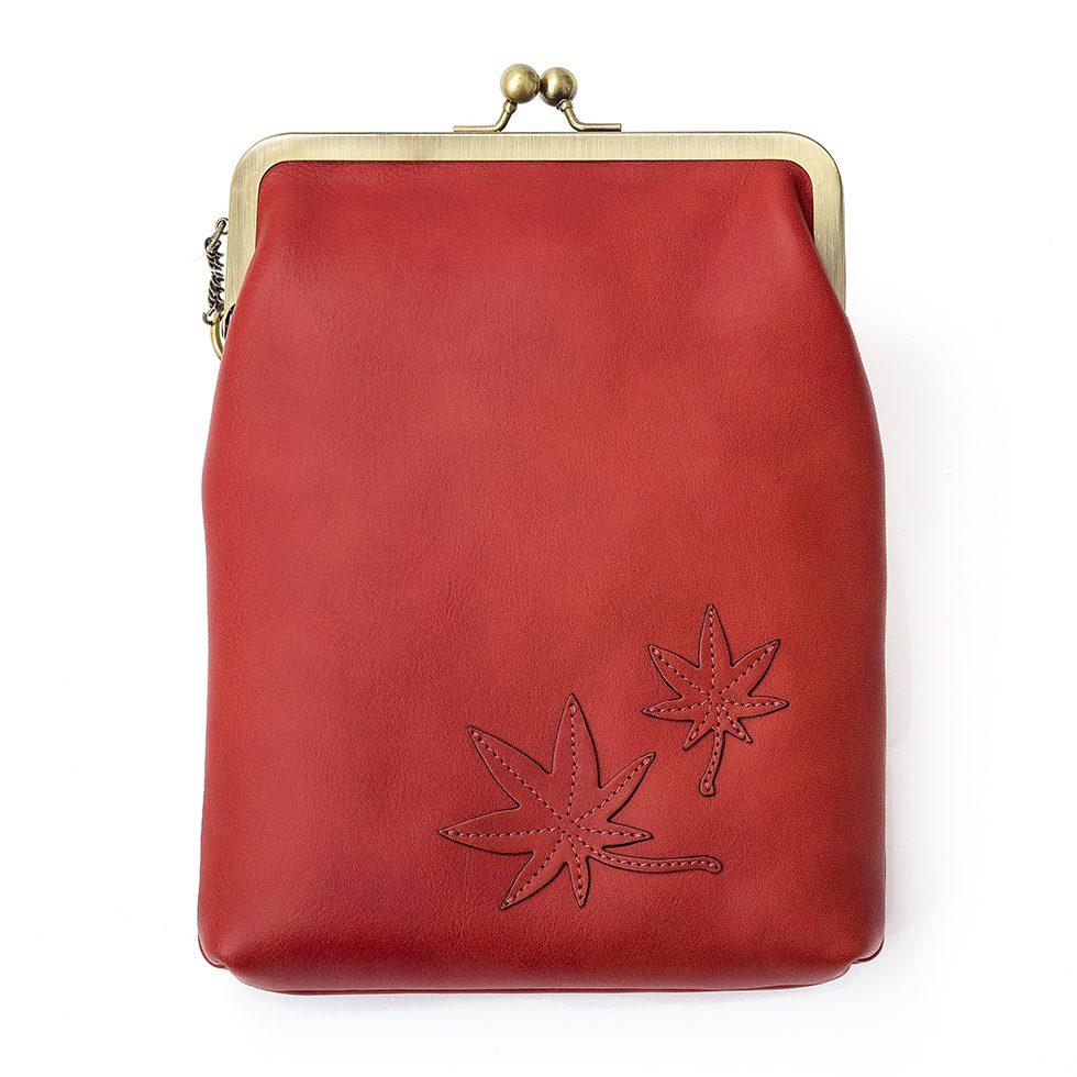 京都限定のELISIR caede KYOTO | エリシアカエデ京都のバッグシリーズ Vacchetta Frame Bags