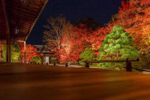 南禅寺紅葉ライトアップ