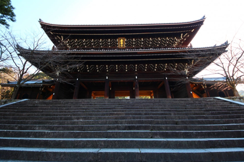 京都・知恩院 紅葉