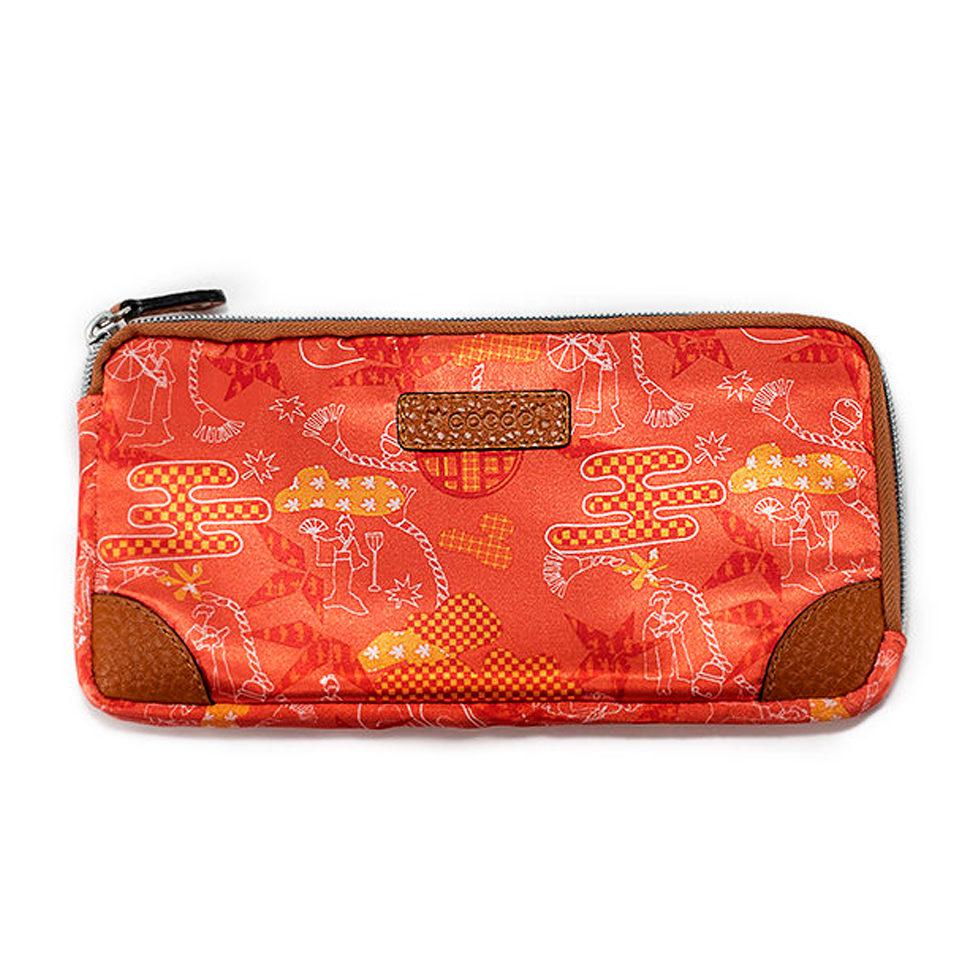 京都限定のELISIR caede KYOTO | エリシアカエデ京都のバッグシリーズ L zip wallet