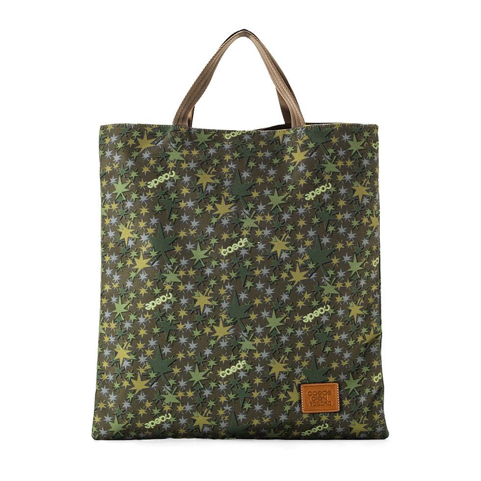 京都限定のELISIR caede KYOTO | エリシアカエデ京都のバッグシリーズ Cerberus 3face Tote COLOR:GREEN