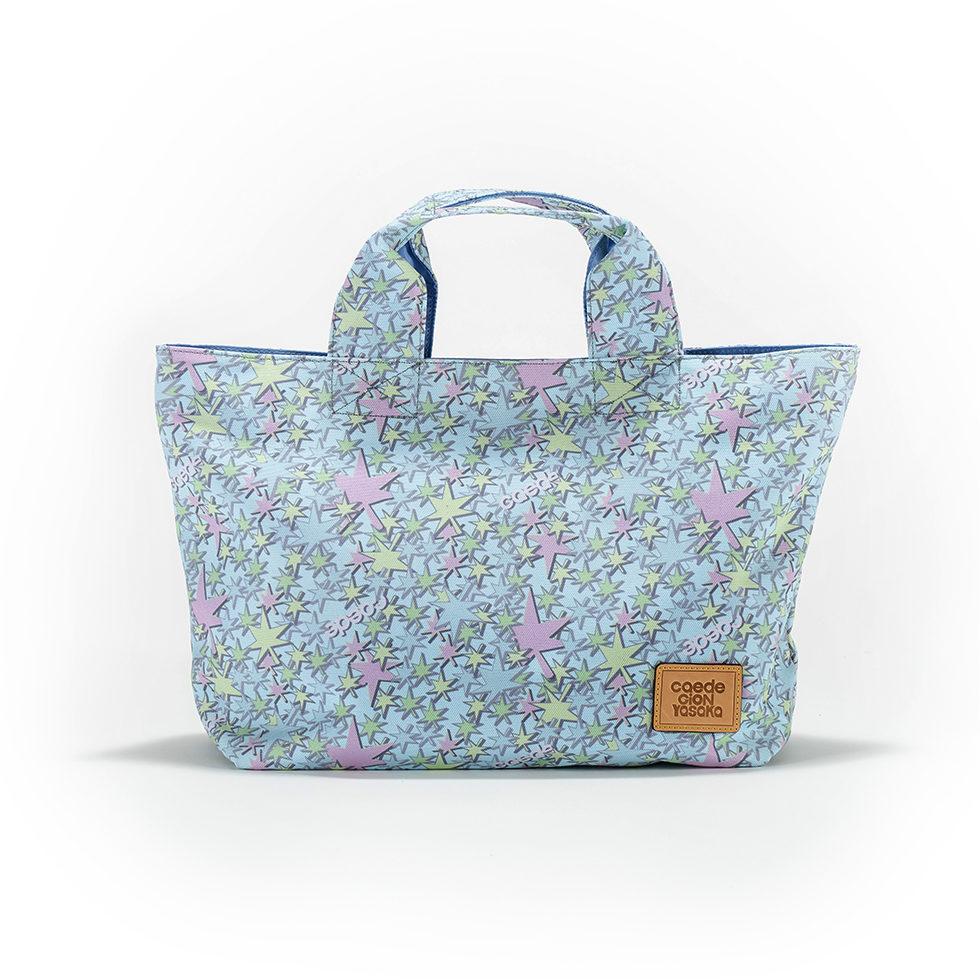 京都限定のELISIR caede KYOTO | エリシアカエデ京都のバッグシリーズ Stella Tote Mini COLOR:BLUE