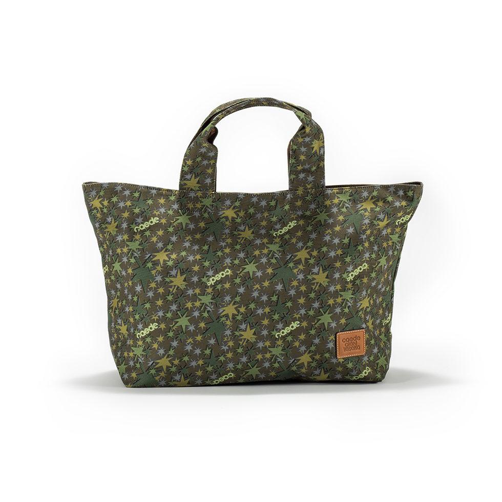 京都限定のELISIR caede KYOTO | エリシアカエデ京都のバッグシリーズ Stella Tote COLOR:GREEN