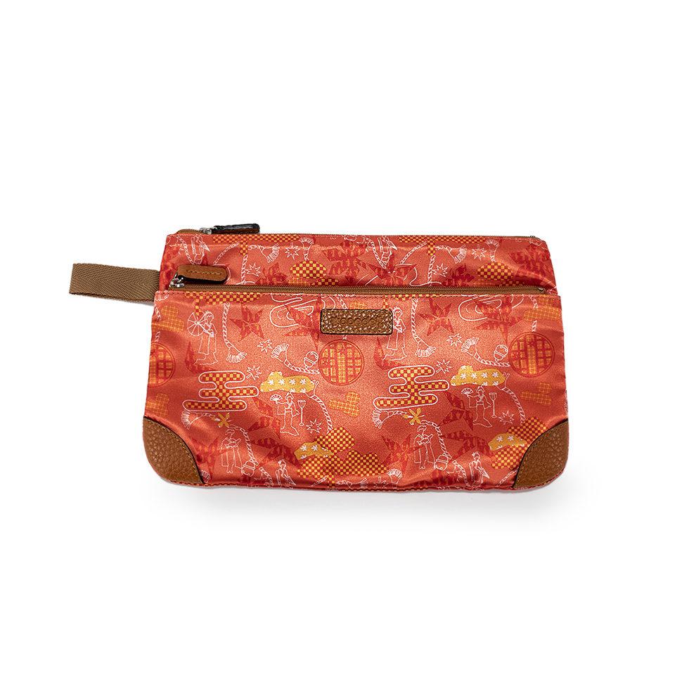 京都限定のELISIR caede KYOTO | エリシアカエデ京都のバッグシリーズ Multi Pouch L