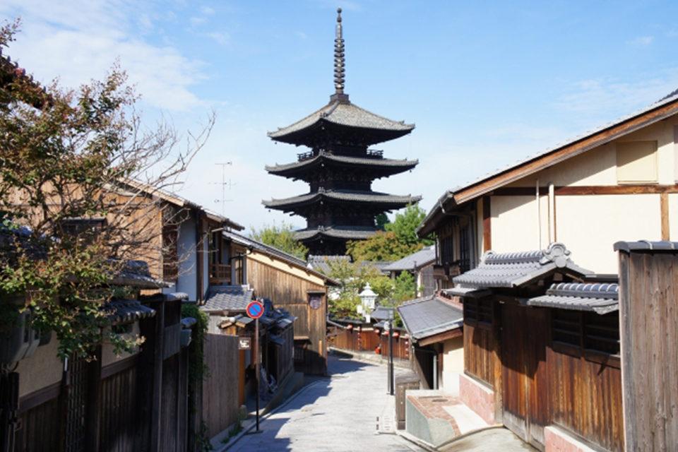 法観寺の五重塔
