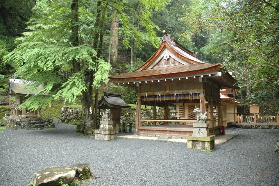 貴船神社の御鎮座地