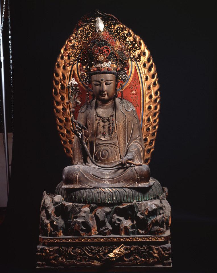 重要文化財の楊貴妃観音像