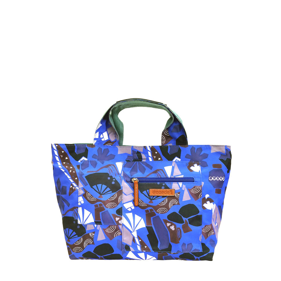 maikopuzzle tote mini blue