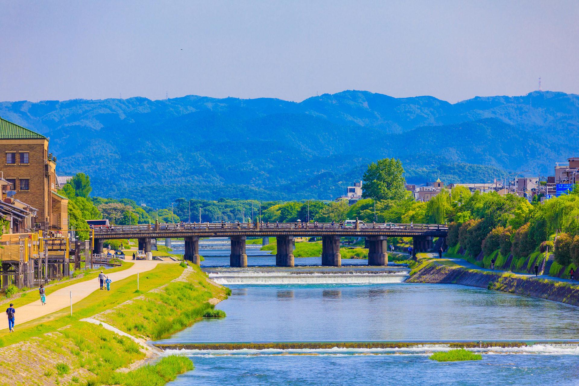 京都-初夏-風景