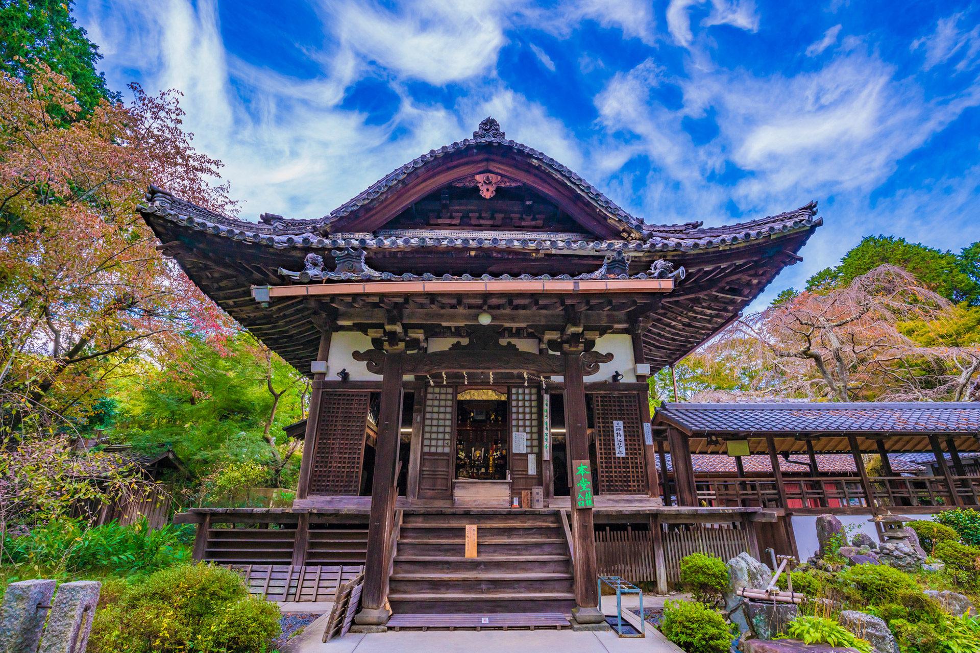 京都-十輪寺-風景