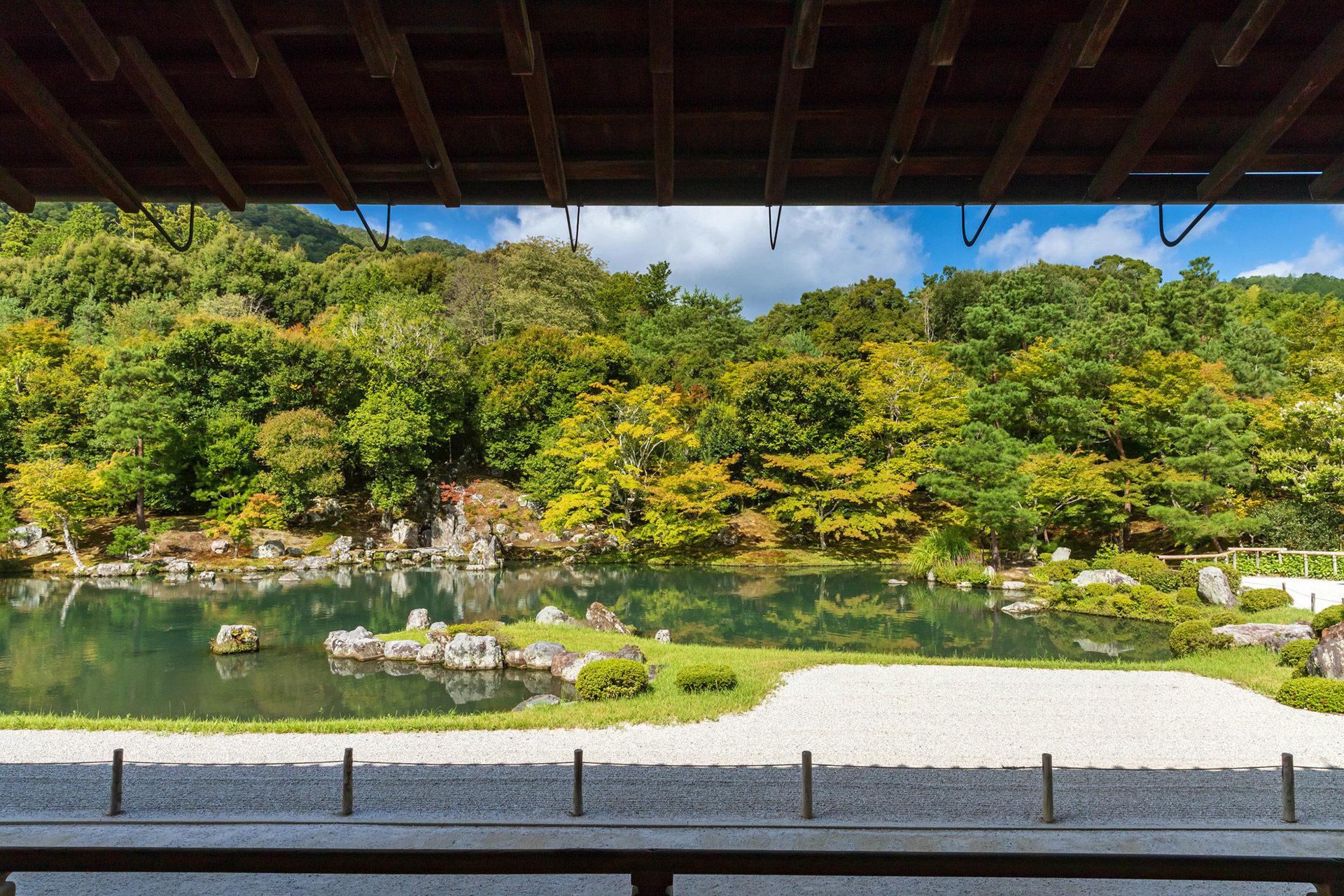 京都-天龍寺-夏