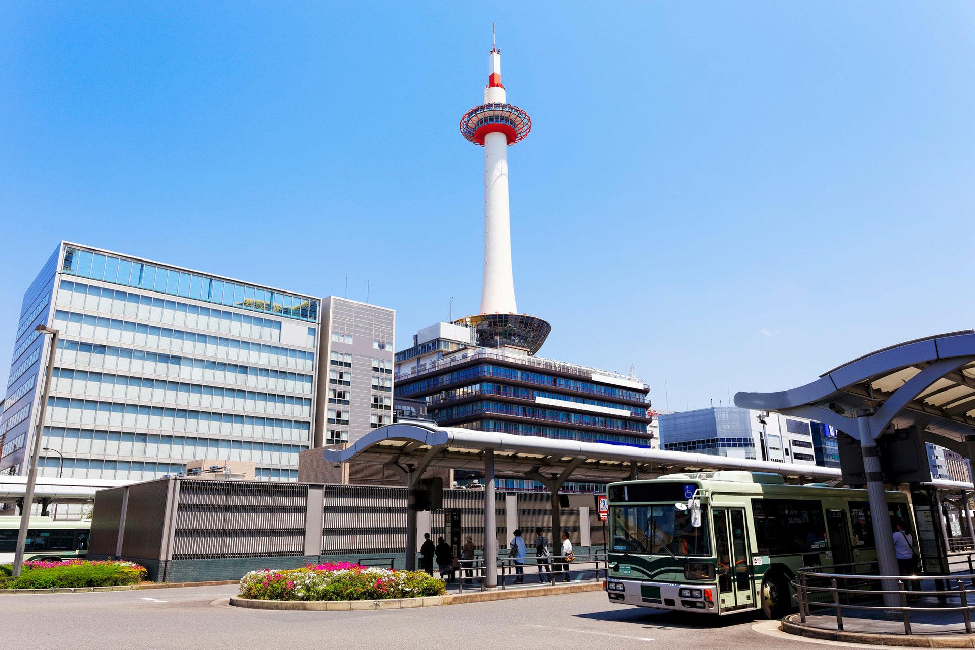 京都-観光バス