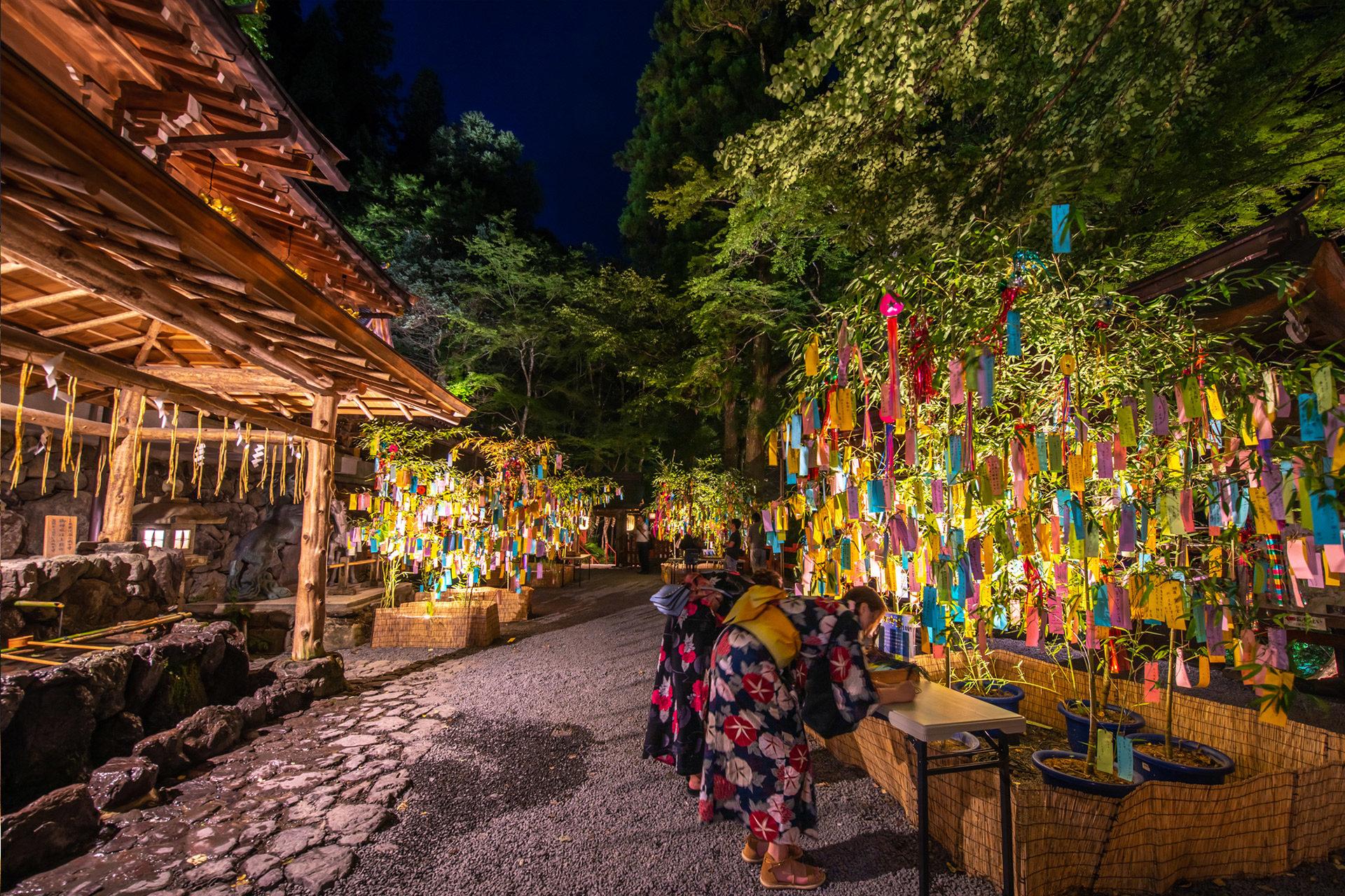 京都-貴船神社-七夕