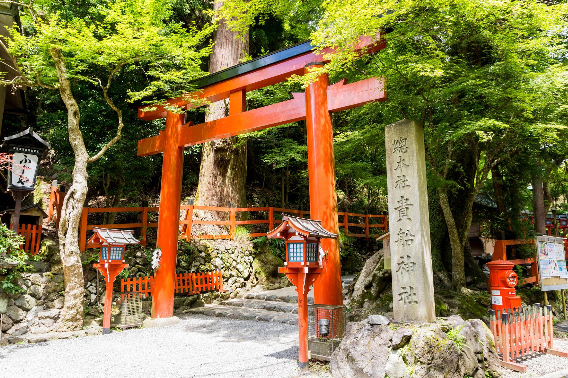 京都-貴船神社-夏