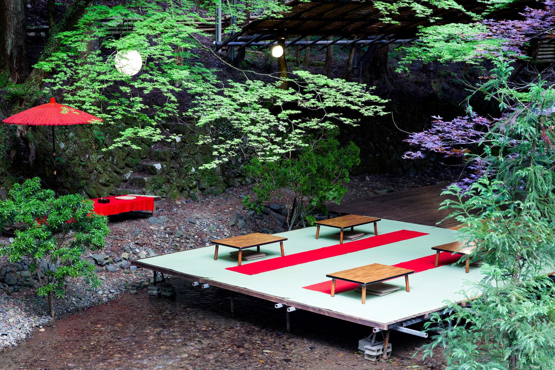 京都-貴船-食事