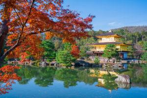 京都-金閣寺-秋