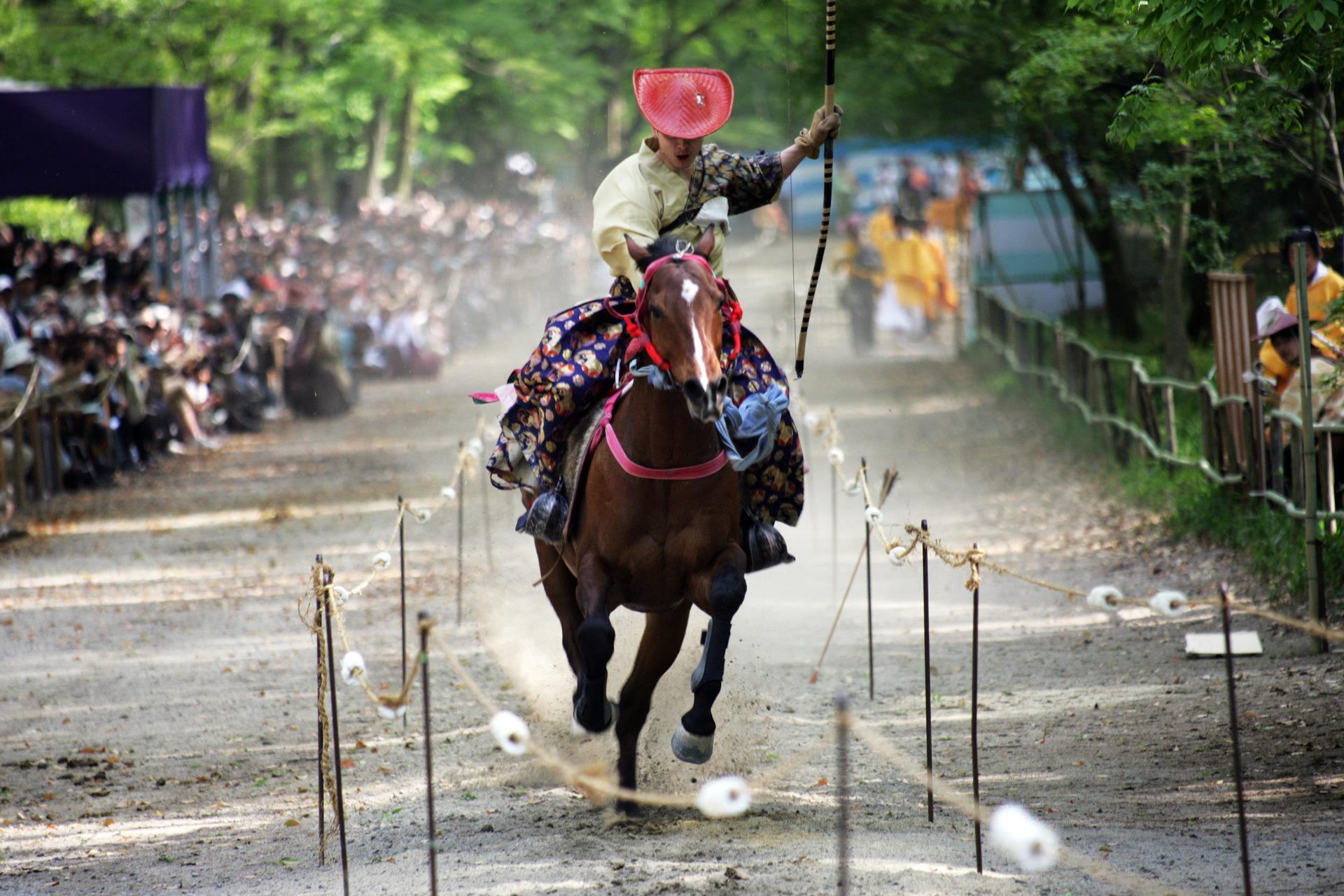 葵祭-流鏑馬