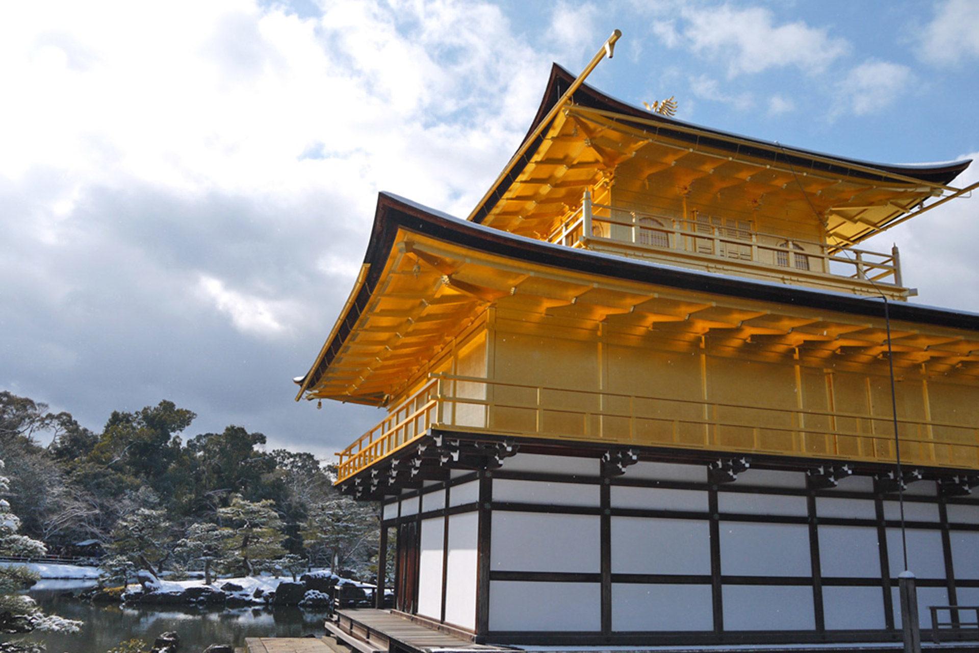 京都の金閣寺