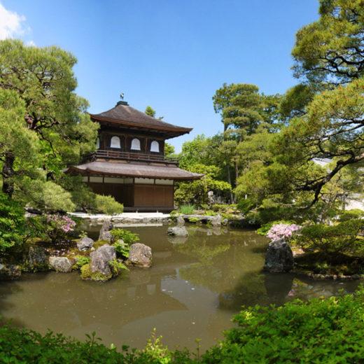 京都の銀閣寺