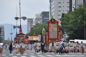 祇園祭御池通