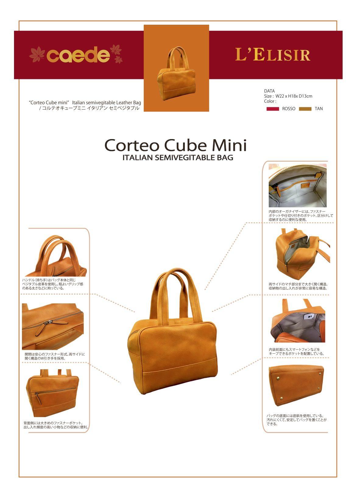 59852 cube mini 機能説明