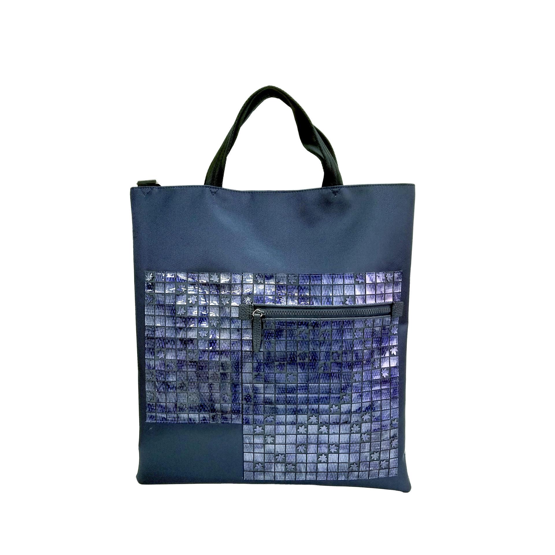 京都限定のELISIR caede KYOTO | エリシアカエデ京都のバッグシリーズ twill nylon misto 3face tote