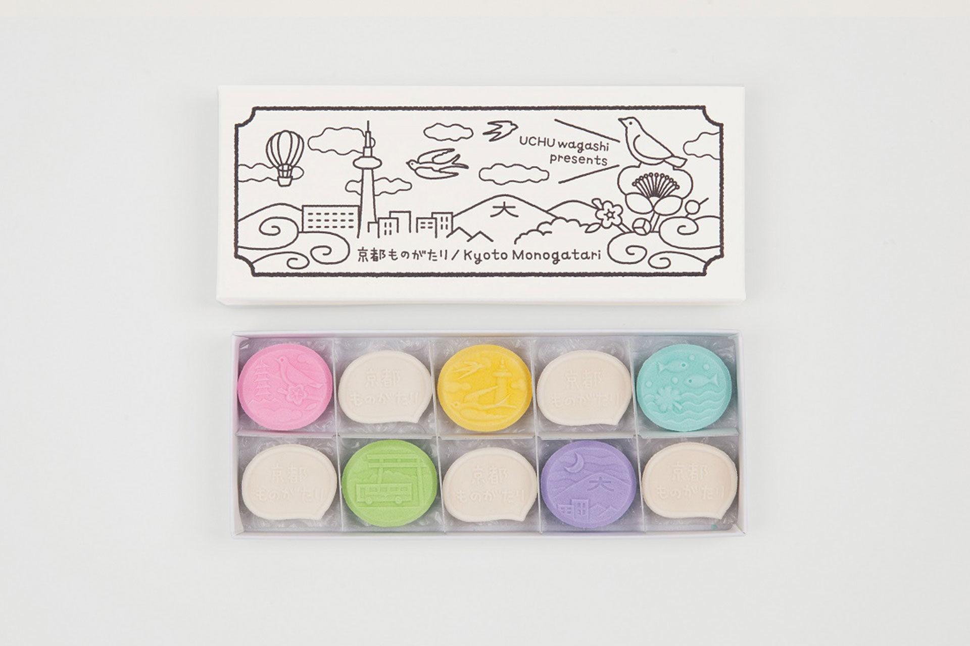 干菓子専門店「UCHU wagashi」