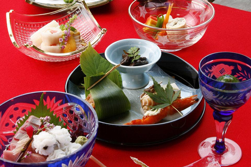 京都川床料理