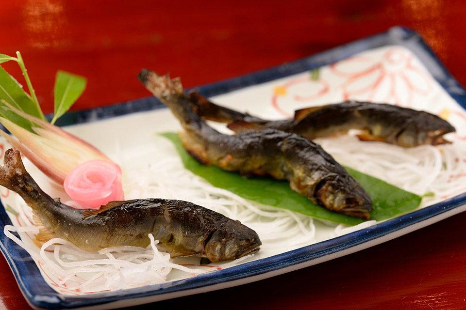 京都鮎の塩焼き