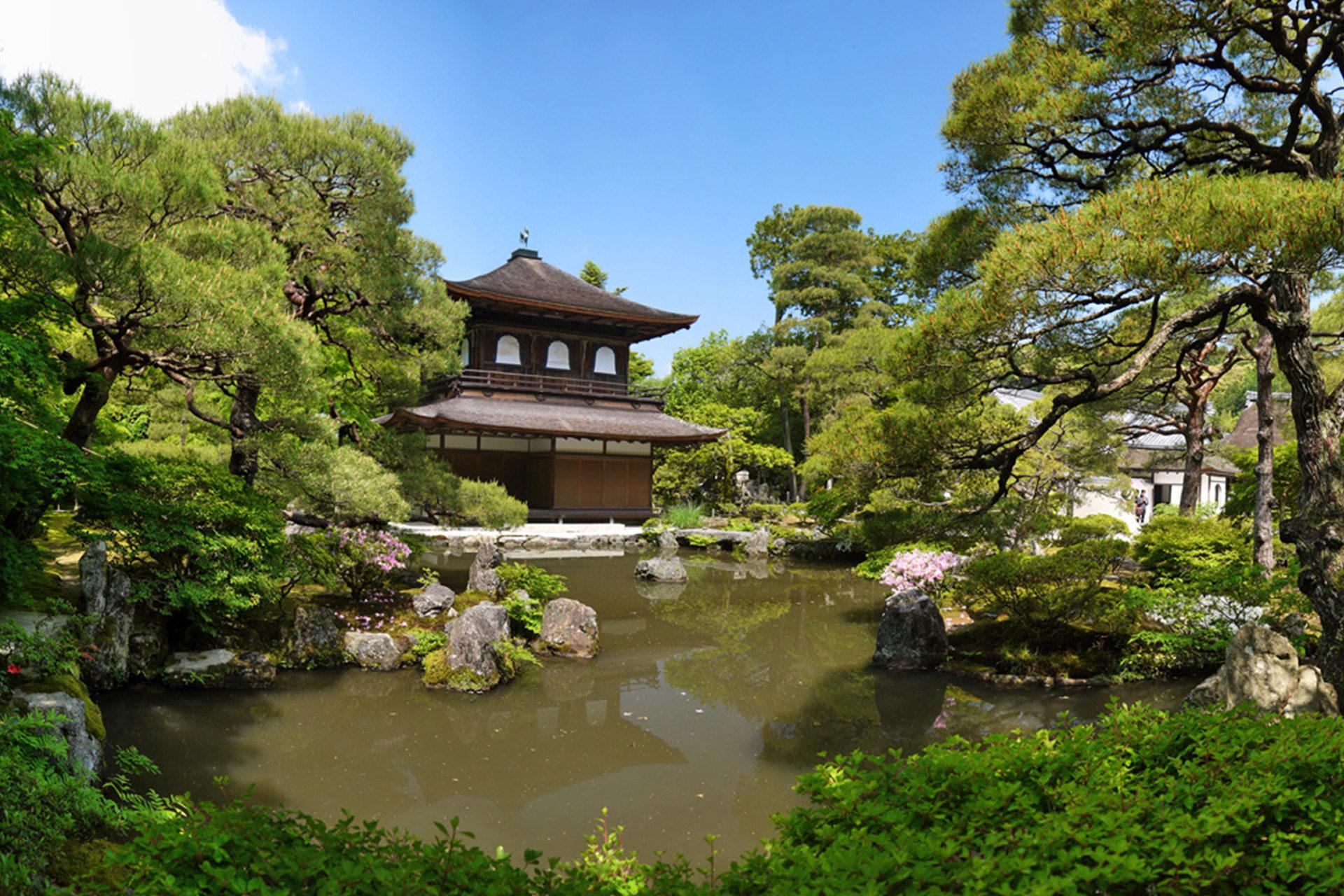 京都 紅葉 銀閣寺