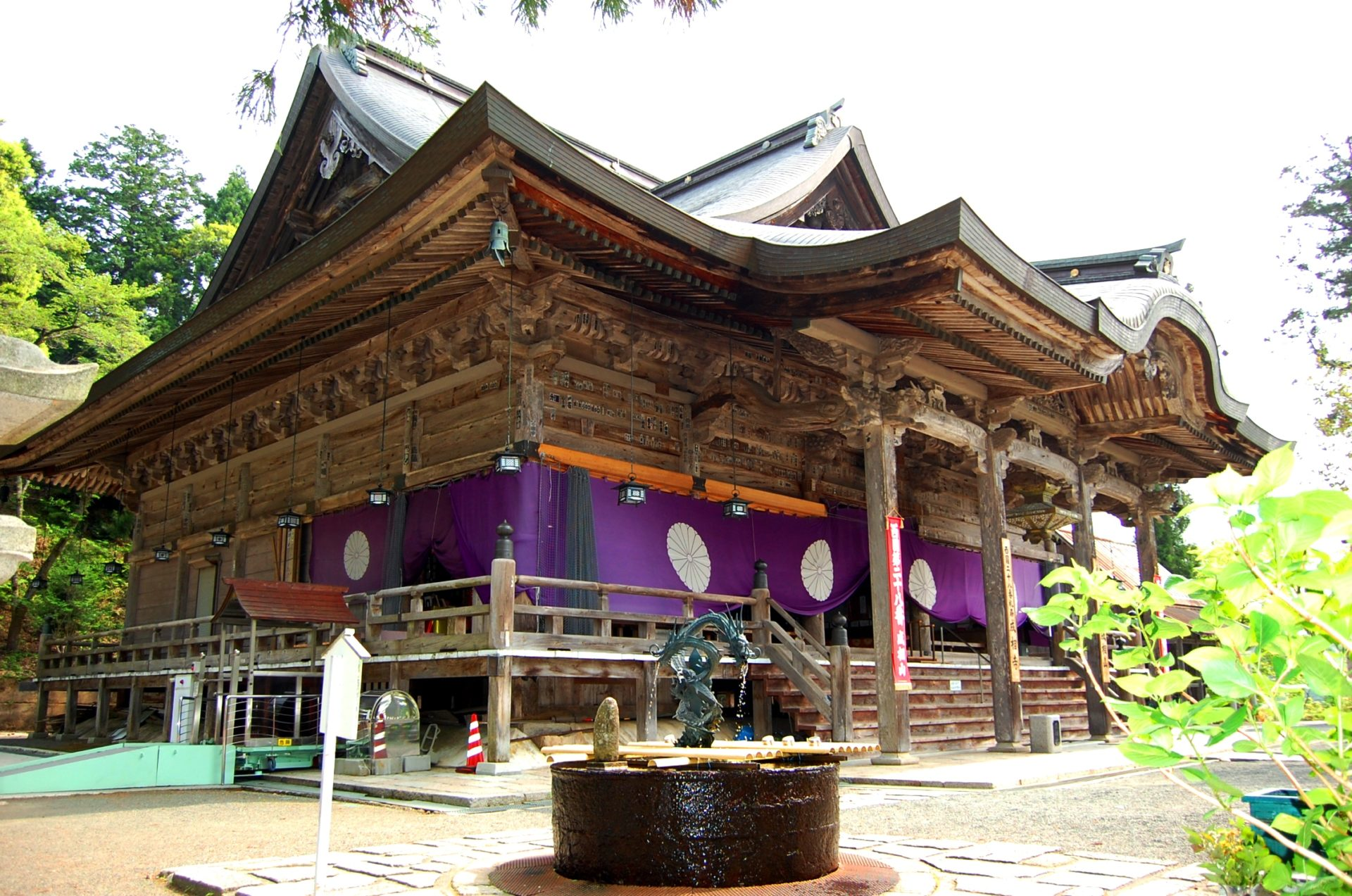 成相寺の紅葉