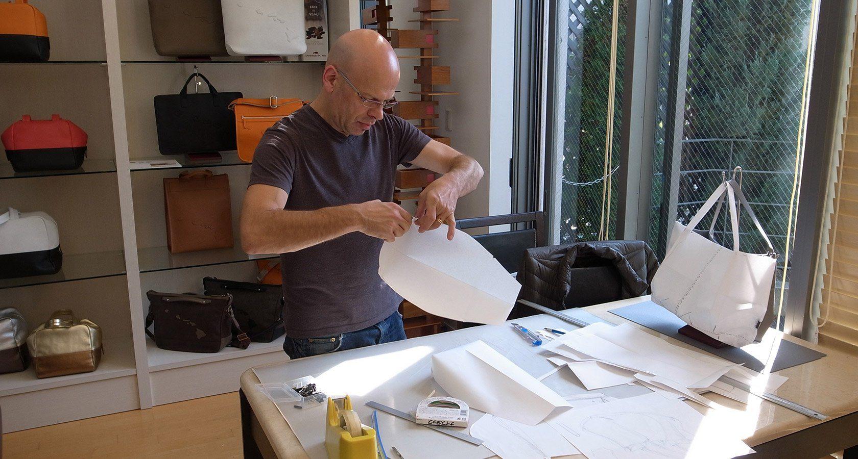 イタリアバッグ界の巨匠、ガブリエール・カンデローニ氏